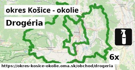 ilustračný obrázok k Drogéria, okres Košice - okolie