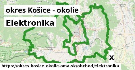 ilustračný obrázok k Elektronika, okres Košice - okolie