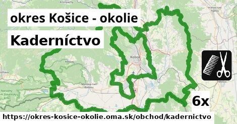 ilustračný obrázok k Kaderníctvo, okres Košice - okolie