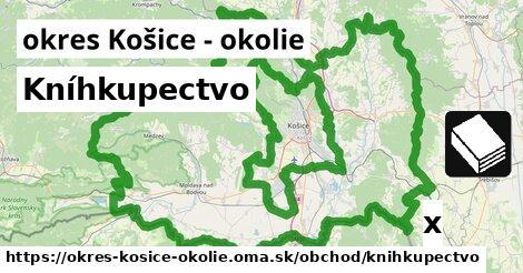 ilustračný obrázok k Kníhkupectvo, okres Košice - okolie