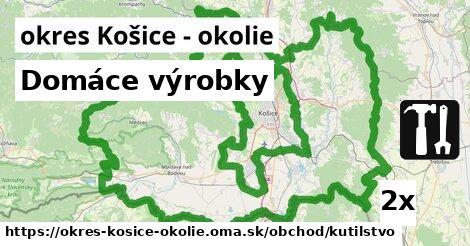 ilustračný obrázok k Domáce výrobky, okres Košice - okolie