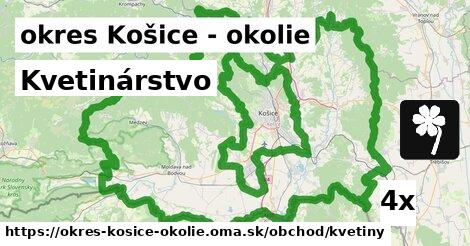 ilustračný obrázok k Kvetinárstvo, okres Košice - okolie