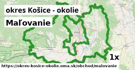 ilustračný obrázok k Maľovanie, okres Košice - okolie