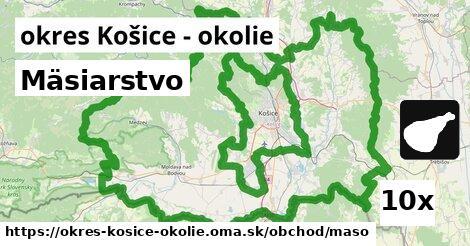 ilustračný obrázok k Mäsiarstvo, okres Košice - okolie
