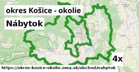 ilustračný obrázok k Nábytok, okres Košice - okolie