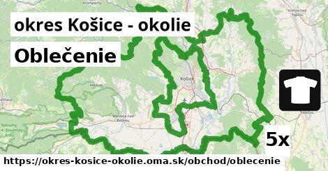 ilustračný obrázok k Oblečenie, okres Košice - okolie