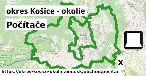 ilustračný obrázok k Počítače, okres Košice - okolie
