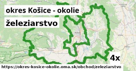 ilustračný obrázok k železiarstvo, okres Košice - okolie