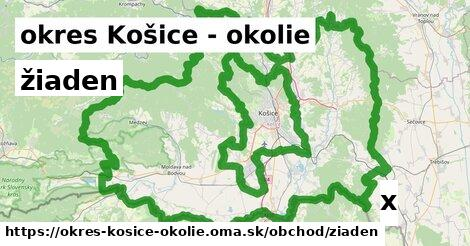 ilustračný obrázok k žiaden, okres Košice - okolie