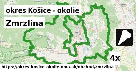 ilustračný obrázok k Zmrzlina, okres Košice - okolie