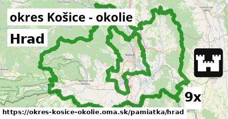 Hrad, okres Košice - okolie