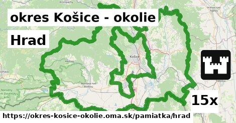 hrad v okres Košice - okolie