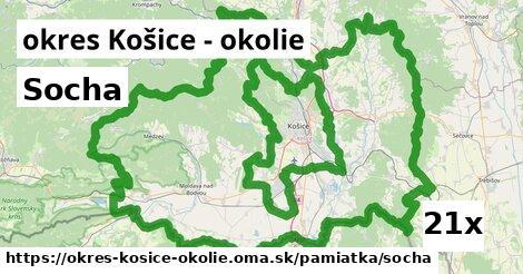 ilustračný obrázok k Socha, okres Košice - okolie