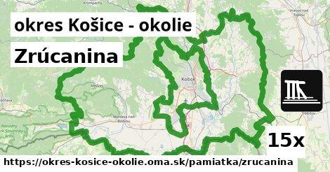 ilustračný obrázok k Zrúcanina, okres Košice - okolie