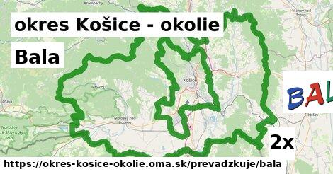 ilustračný obrázok k Bala, okres Košice - okolie