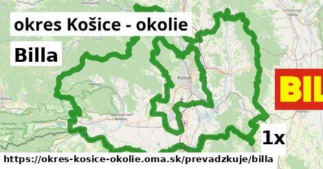 ilustračný obrázok k Billa, okres Košice - okolie