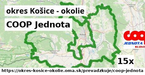 ilustračný obrázok k COOP Jednota, okres Košice - okolie