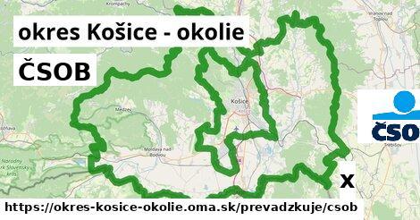 ilustračný obrázok k ČSOB, okres Košice - okolie