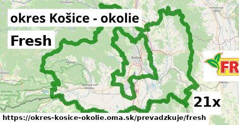 Fresh v okres Košice - okolie