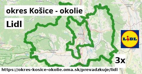ilustračný obrázok k Lidl, okres Košice - okolie