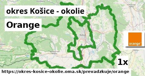 ilustračný obrázok k Orange, okres Košice - okolie