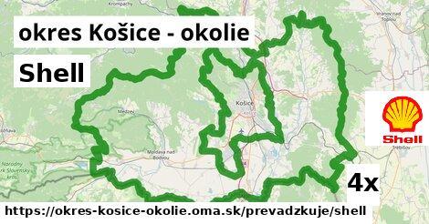 ilustračný obrázok k Shell, okres Košice - okolie