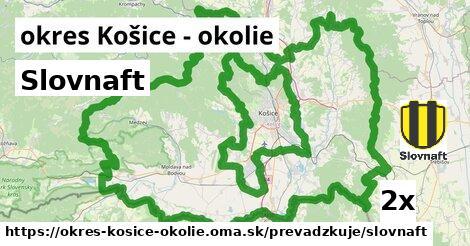 ilustračný obrázok k Slovnaft, okres Košice - okolie