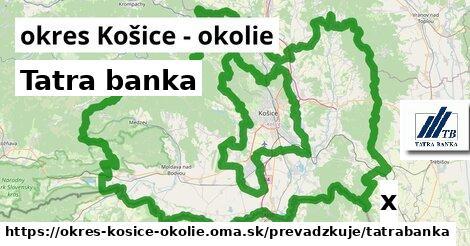 ilustračný obrázok k Tatra banka, okres Košice - okolie