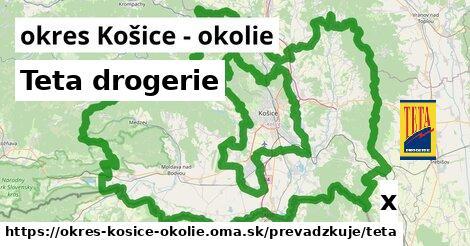 ilustračný obrázok k Teta drogerie, okres Košice - okolie