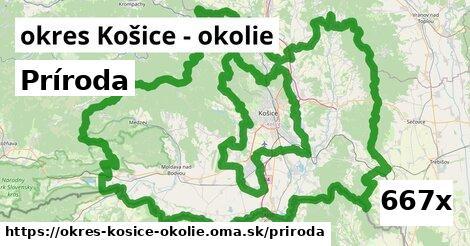 príroda v okres Košice - okolie