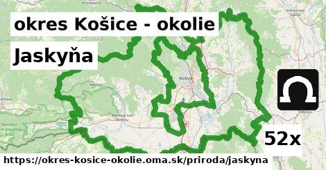 ilustračný obrázok k Jaskyňa, okres Košice - okolie