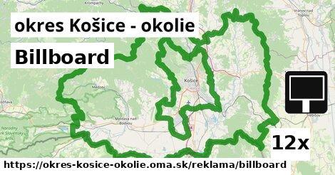 ilustračný obrázok k Billboard, okres Košice - okolie