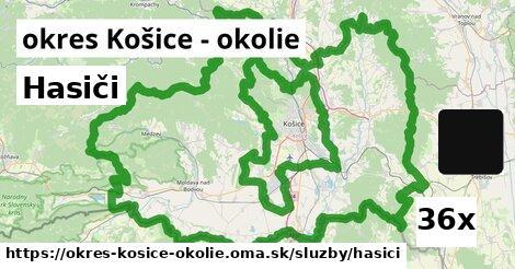 ilustračný obrázok k Hasiči, okres Košice - okolie