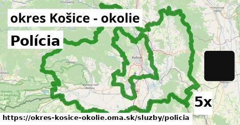 ilustračný obrázok k Polícia, okres Košice - okolie