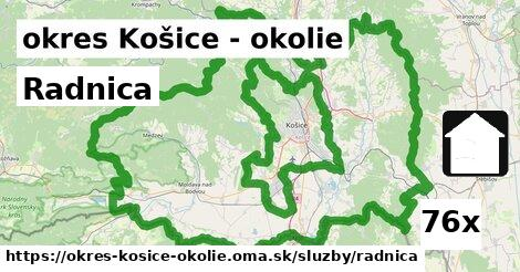 ilustračný obrázok k Radnica, okres Košice - okolie