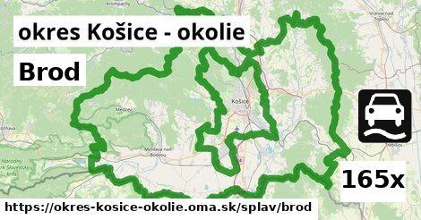 ilustračný obrázok k Brod, okres Košice - okolie