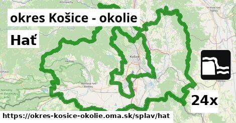 hať v okres Košice - okolie