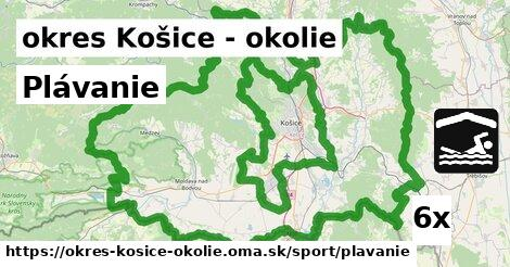 Plávanie, okres Košice - okolie