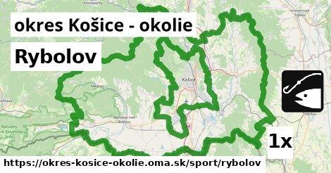Rybolov, okres Košice - okolie