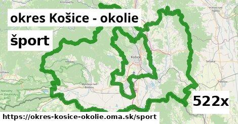 šport v okres Košice - okolie