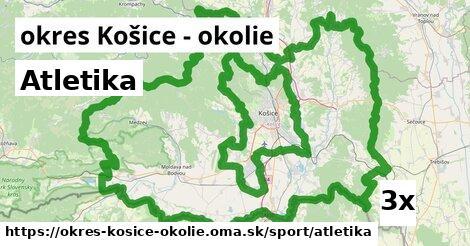 ilustračný obrázok k Atletika, okres Košice - okolie