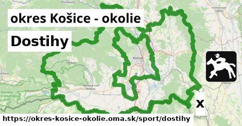 ilustračný obrázok k Dostihy, okres Košice - okolie