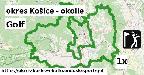 ilustračný obrázok k Golf, okres Košice - okolie