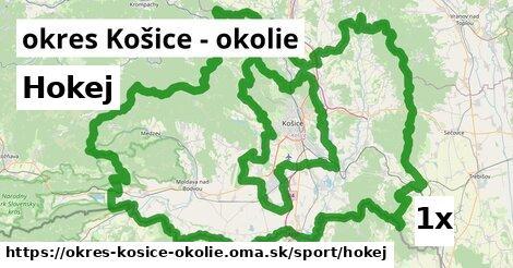 ilustračný obrázok k Hokej, okres Košice - okolie