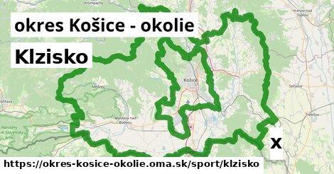 ilustračný obrázok k Klzisko, okres Košice - okolie