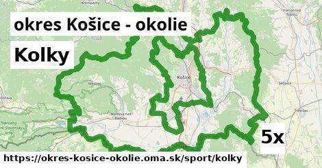 ilustračný obrázok k Kolky, okres Košice - okolie