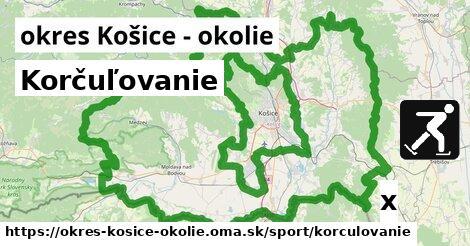ilustračný obrázok k Korčuľovanie, okres Košice - okolie