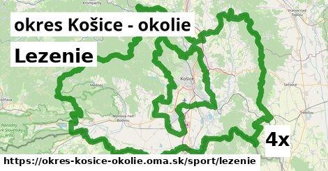 ilustračný obrázok k Lezenie, okres Košice - okolie