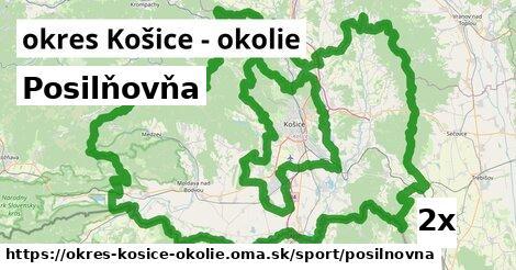 ilustračný obrázok k Posilňovňa, okres Košice - okolie
