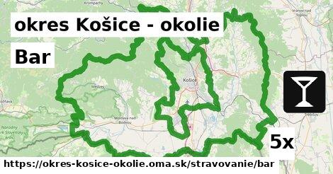 Bar, okres Košice - okolie
